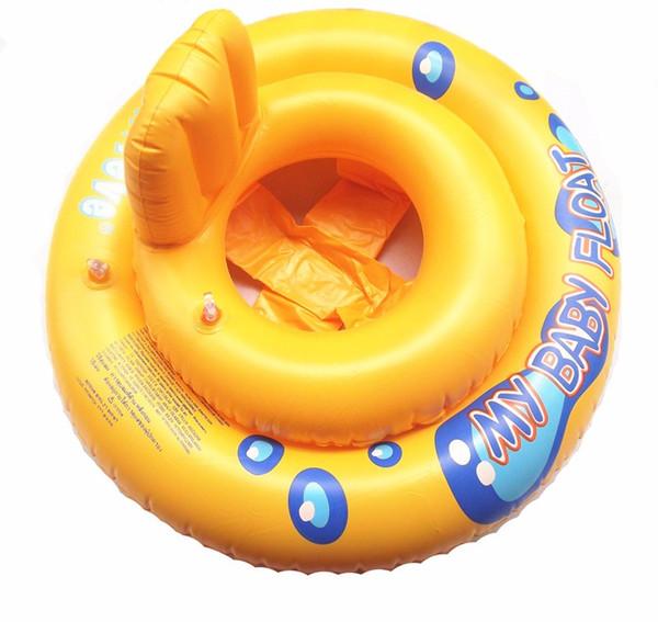 Anillo inflable de alta calidad del asiento del barco del asiento del bote del bebé del círculo de goma nadar niño infantil Piscina Accesorios portátiles