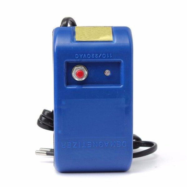 Spina di sbiadimento EU per strumenti di riparazione dell'orologio Pinzetta per cacciavite Utensili per smagnetizzatore per smagnetizzazione elettrica