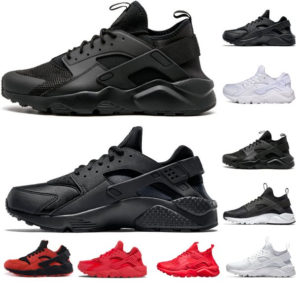 Huaraches ultra 4.0 1.0 Running shoes for mens Triple White Black red men women huarache trainers sports designer shoes sneakers EUR 36-45