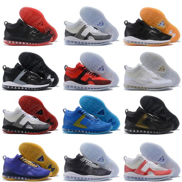 2018 Yeni Arrivel ZOOM Tüm Dışarı Örgü marka Isim Racer erkek Hava Yastığı Sneaker Spor Basketbol Ayakkabıları Boyutu 40-46
