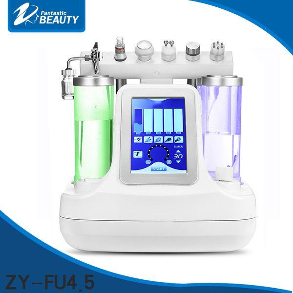 6 in1 SPA portatile BIO Lifting RF macchine per il viso terapia della pelle idra dermoabrasione Ossigeno spray cura della pelle bellezza attrezzature salone uso