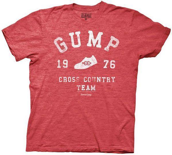 Detalles zu Forrest Gump 1976 Cross Country Team Adulto Heather Red Camiseta Divertida envío gratis Unisex Casual regalo
