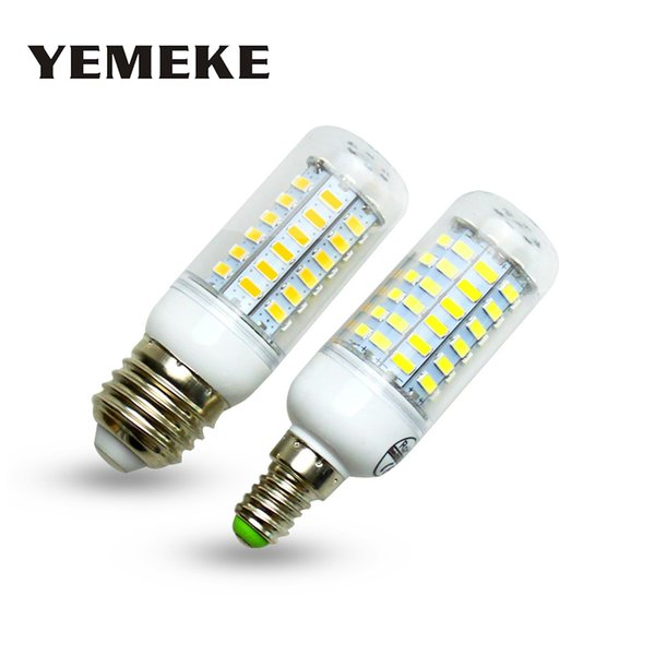 E27 B22 G9 E14 GU10 E26 7-25W Ultra Bright 5730 LED Corn Bulb Lamps White Lights