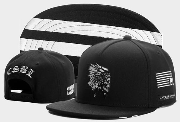 2018 Yeni perakende Moda ÇAYLER SONS Snapback Kap Hip-Hop Erkek Kadın Snapbacks Şapka Beyzbol Spor Kapaklar, kaliteli