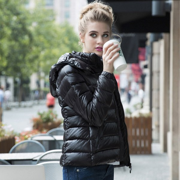 Venda Outerwear Casacos de Mulher Nova Roupa M Down Jacket Mulheres de Inverno Parka Moda Respirável Quente 90% Branco Para Baixo de Alta Qualidade Jacket