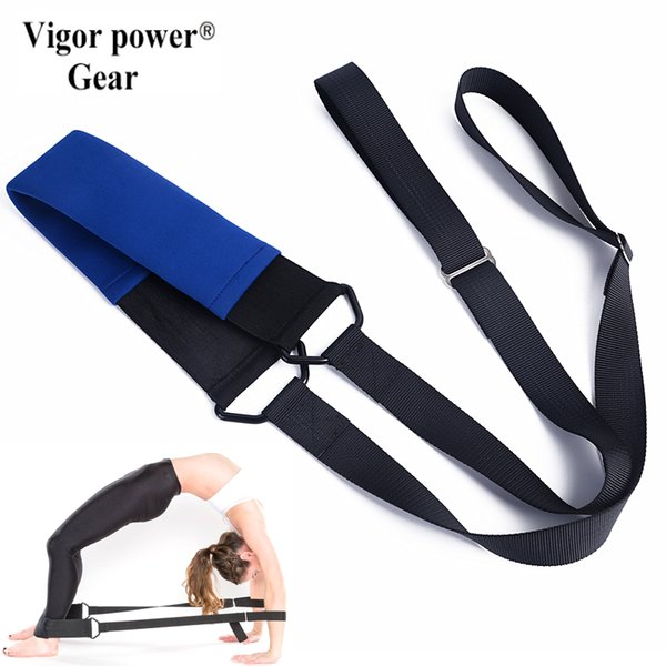 vigorpowergear flexistretcher yoga straps ballet bands, dance ropes, gymnastics, cheer, yoga, pilates, drill, physical therapy