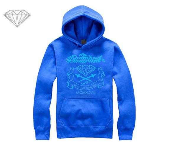 Diamond Supply hoodie for men free shipping diamonds hoodies hip hop brand new 2018 sweatshirt men's clothes pullover M10