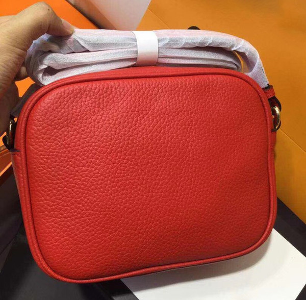 Original leather Red