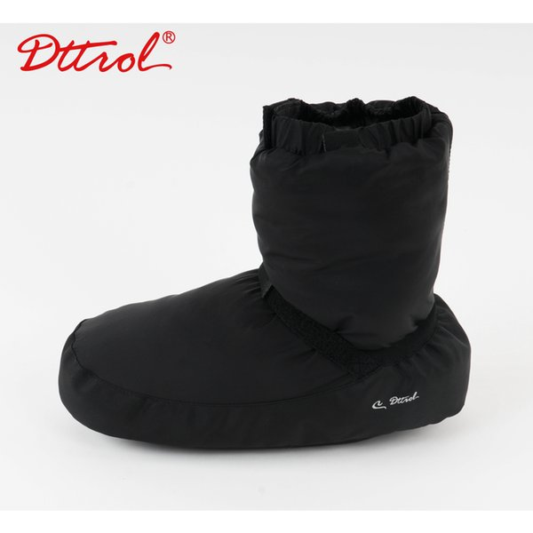 Ballet Dance Warm Boot Girls Ballet Point Warm Shoes Castle Flo Ballerina Warm-up Booties Grey/Black/Purple Dance Apparel