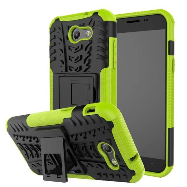 Kickstand Armor Duty TPU PC Shockproof Case For Samsung Galaxy Note 7 N930 On5 2016 J5 Prime A8 2016 A810 A3 2017 A320 Covers Silicone Case
