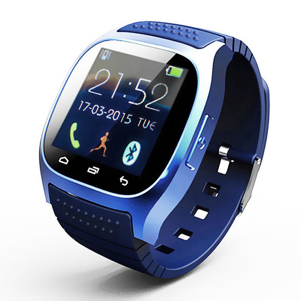 2018 Smart Watch Bluetooth Smart Watch with LED Display / Dial / Alarm /Fitness /Pedometer for Android IOS HTC Mobile Phone