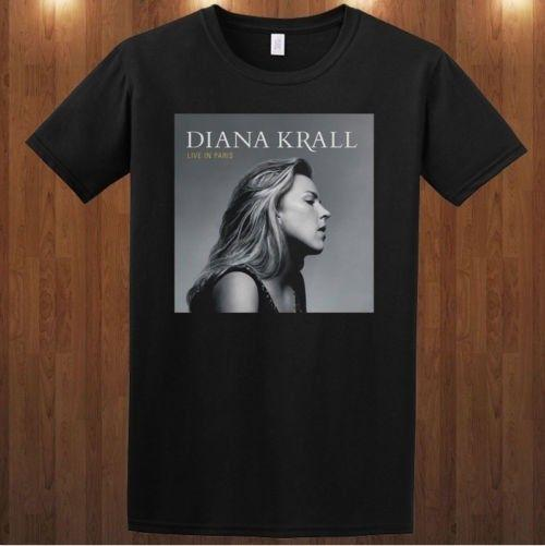 fc2870c052 Compre Diana Krall Camiseta T Shirt Jazz Pianista Cantora Bossa Nova ...