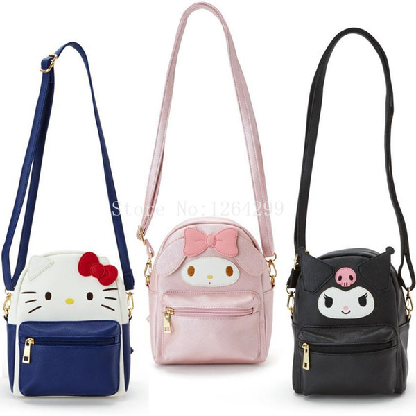 b9298b9c02 hello kitty kid bags Promo Codes - New Fashion Hello Kitty My Melody Kuromi Girls  Mini