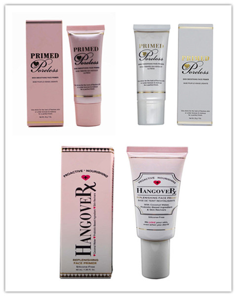 best selling in stock!Top Quality Faced Hangover Replenishing Primer Primed and Poreless Foundation Cocnealer Primer Proactive Nourishing By DHL