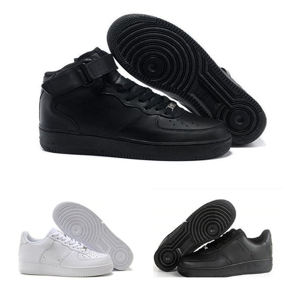 pretty nice a2af4 e9ad1 Nike Air Force 1 Leather AF1 designer sneakers ZAPATOS DE HOMBRE Just Do It  Running Shoes