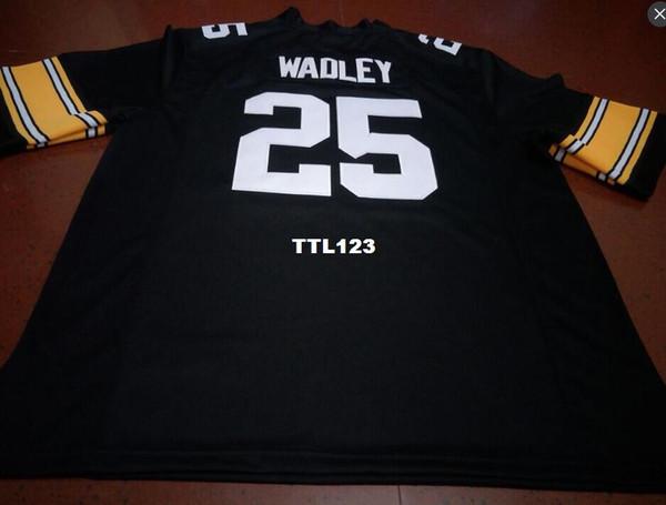 Uomini economici # 25 Akrum Wadley Iowa Hawkeyes Alumni College Jersey S-4XLore personalizzato qualsiasi nome o numero maglia