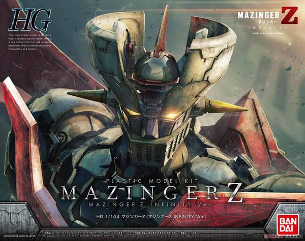 wholesale 1/144 HG MAZINGER Z (MAZINGER Z: INFINITY VER.) Assemble Model Kits Action Figures Plastic Model Toys