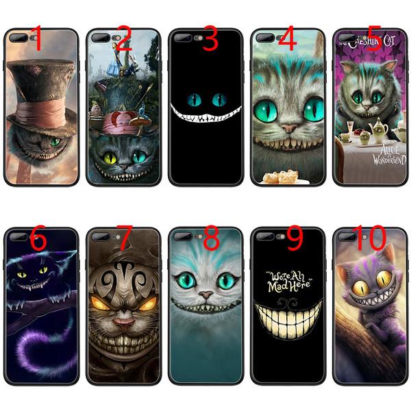 coque iphone 6 chat alice au pays des merveilles