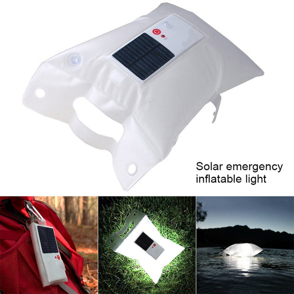 2019 HOT Solar Power Inflatable Light LED Lamp Emergency Portable Waterproof For Outdoor Camping ASD88