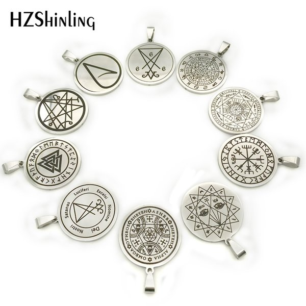 2018 New Cthulhu Version Pendant Handmade Stainless Steel Necklace Pendants Art Silver Jewelry Ball Chain
