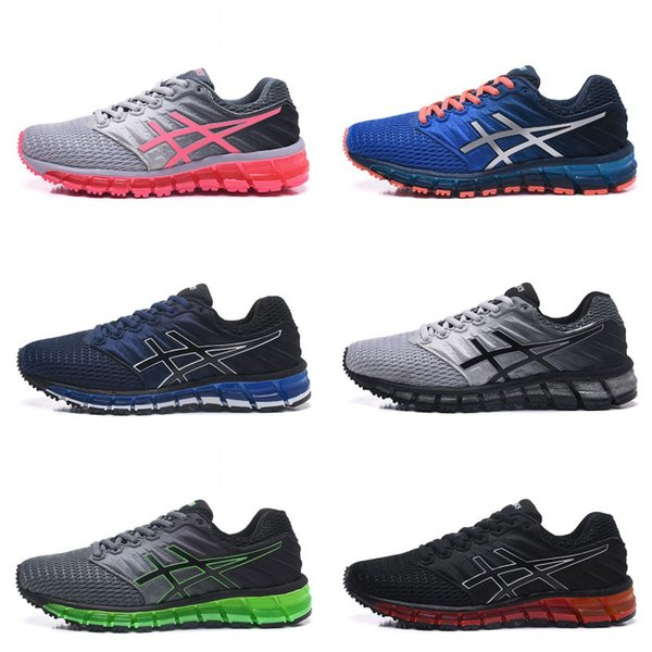 2020 Best Asics Gel Quantum 360 II Men Shoes Running Shoes Blue Red High Quality Cheap Training Fashion Online Sport Sneakers Eur 36 45 From