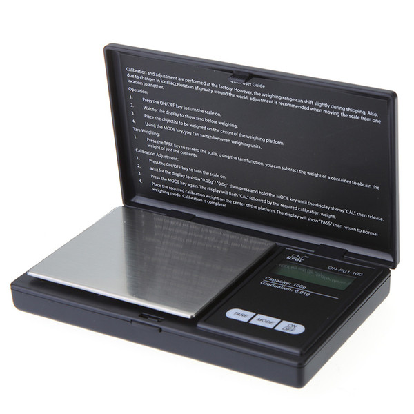 100g*0.01g Mini Digital Scales Weight Balance LCD Electronic Scale Pocket Precision Jewelry Gold Diamond Weight Weighting Scales