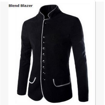 Großhandel 2018 Herbst Und Winter Neue Herren Tunika Kragen Lässig Woolen Kleinen Anzug Jacke Von Mj_covenant, $59.26 Auf De.Dhgate.Com | Dhgate