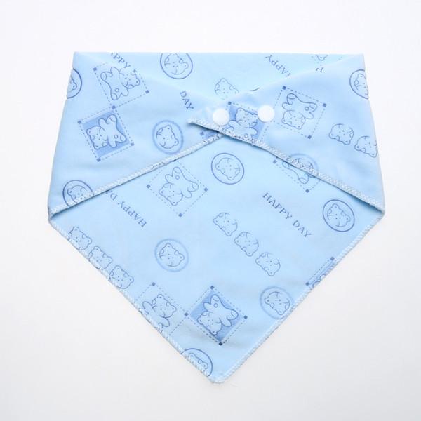 Cartoon Baby Kids Bibs Burp Cloths Cute Bear Print Newborn Baby Saliva Towel Self Feeding Bibs