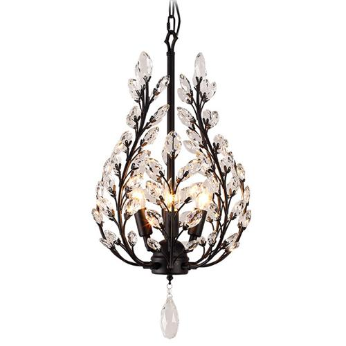 American restaurant led chandelier country table retro garden crystal tree dining room aisle four bar table dining chandelier lightings