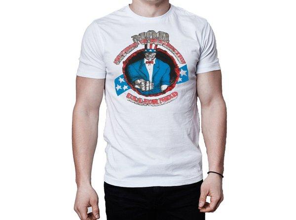 MOD USA para MOD 1988 Album Cover camiseta blanca Camiseta estampada 2018 Fashion Brand Top Tee Harajuku Funny Tops