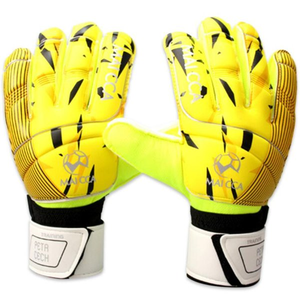 Latex Soccer Goalkeeper Glvoes Men And Women Finger Protector Professional Football Goalie Gloves Adult Training Sport Gloves