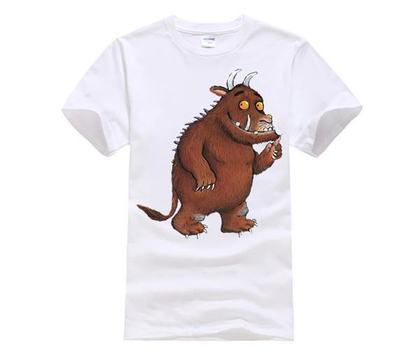 Gruffalo Funny T Shirt Women High Quality Cotton Tops Tees Womens Short Sleeve Black Grey T-shirt Tshirt Femme