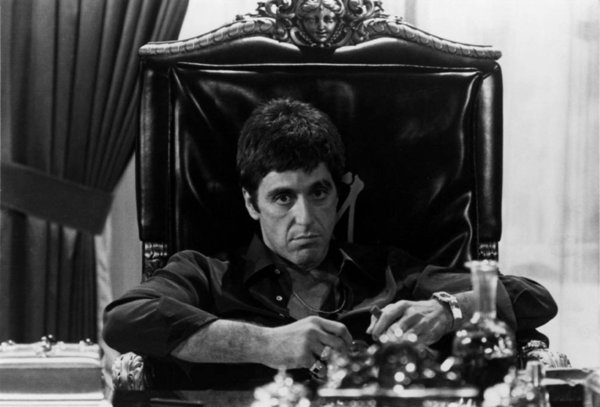 "Pacino Scarface Home Decor Art Silk Poster 24x36"" 24x43"""