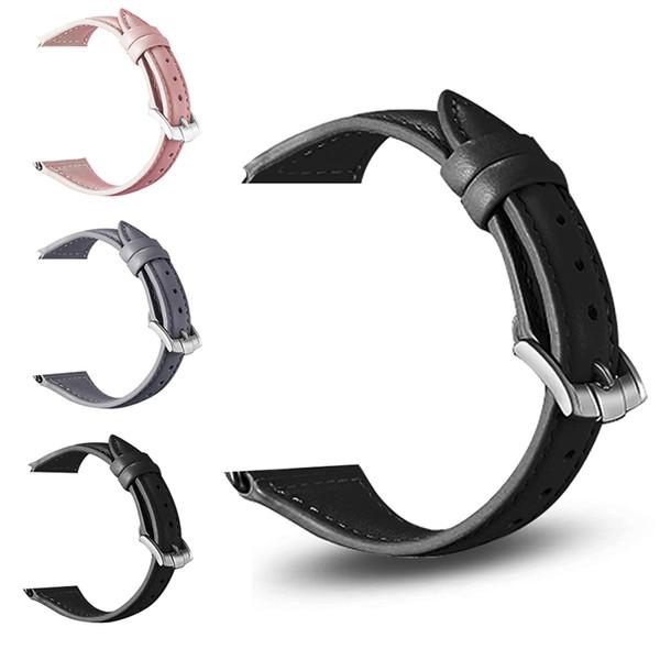 Cinturini Smart Watch in vera pelle compatibile per cinturino sportivo Apple Iwatch 4 Slim Smartwatch con cinturino di ricambio per serie 4 3 2 1 borsa Opp