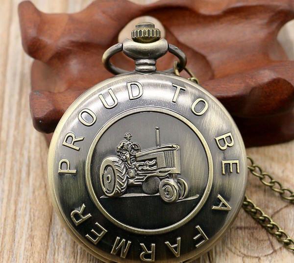 Wholesale 50pcs/lot classic Motorcycle Pocket watch vintage pocket watch Men Women antique models Tuo table watch PW148