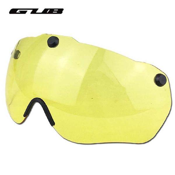 GUB Magnetic Goggles Lunettes De Vélo Ultralight Lunettes De Vélo Lunettes De Vélo Casque Lunettes Jaune / Gris / Clair