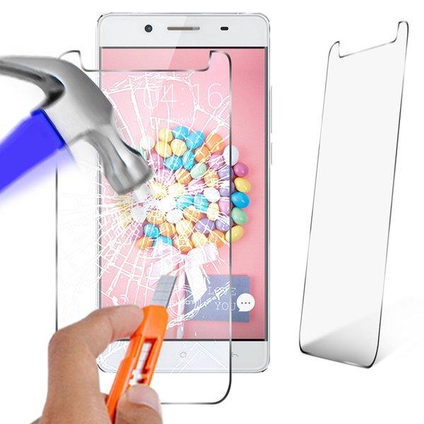 Para cubot x17s / x16s protetor de tela 9 h 2.5d anti-shatter vidro temperado para o novo iphone xs max xr xs samsung j4 j6 s8
