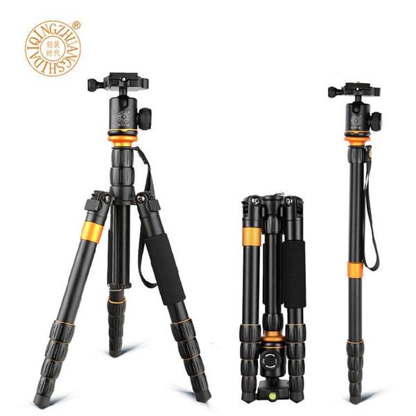 QZ-278 Professional Tripod Monopod Camera Tripod with Ball Head for Canon Nikon Sony DSLR better than Q999s Q666 Pro