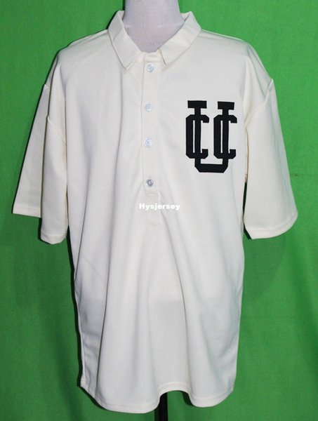 Cheap Retro CHICAGO UNION blank 1904 Home BASEBALL JERSEY Or Custom any number any Mens Vintage jerseys XS - 5XL