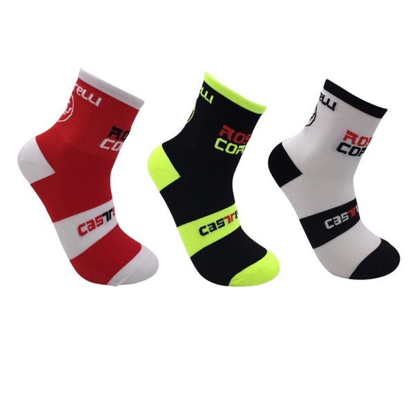 NEW Mens Bicycle Breathable Running Cycling Riding Socks Running Sports Socks Breathable Male Fitness GYM Sports