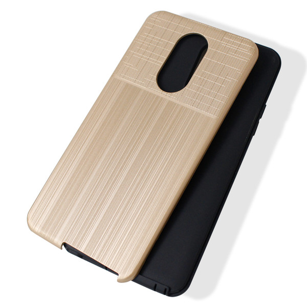 Hybrid Brushed Armor Case For LG K10 2018 K30 X410 MS425 For LG K8 2018  X210 Dual Layer Protector Cover D Phone Case Custom Phone Cases From