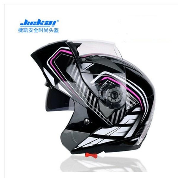 Model JIEKAI 105 Visor Motorbike Flip Up Helmet Lens Anti-fog Clear