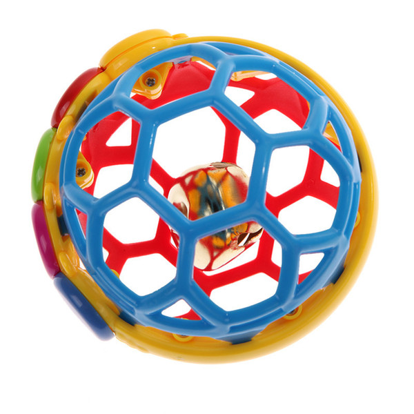 Colorful Ball Baby Rattle Toys Fun Little Loud Jingle Ball Develop Intelligence Educational Training Grasping Ability Toy
