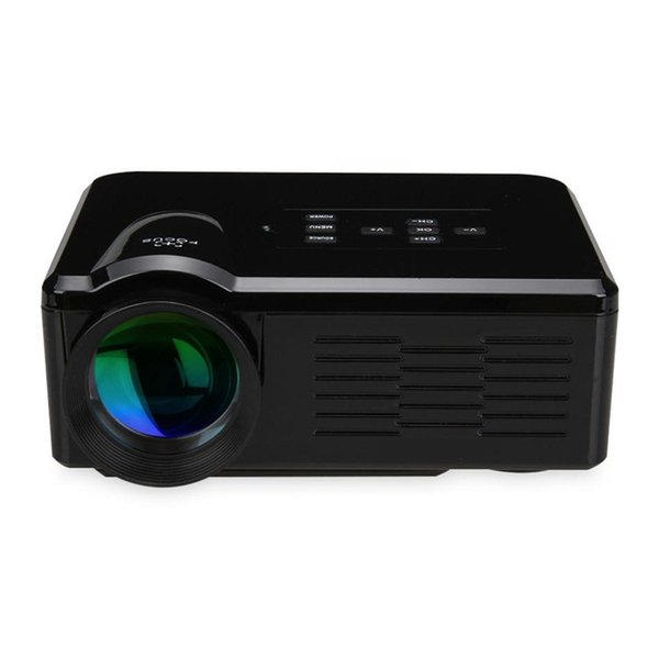 LCD Home Theater Projector LED Projector 800 Lumens Support 1080P AV/VGA/USB/SD/HDMI Portable LED Proyector Beamer For Games Video Party