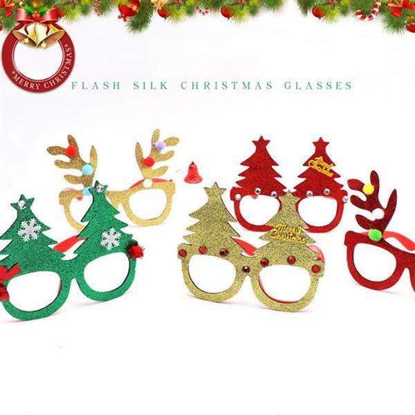 Marcos Para Fotos De Arbol De Navidad.Compre 5 Unids Decorativo Arbol De Navidad Marco De Anteojos Asta Gafas Lindas Adornos De Marcos Para Fiesta Cosplay Navidad Ninos A 16 92 Del