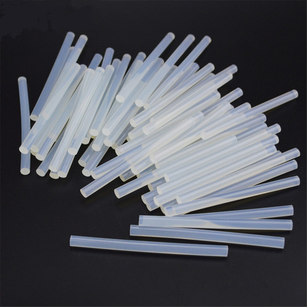 60 unids / 7mm Hot Melt Glue Sticks para Pistola de pegamento eléctrica Craft Album Herramientas de reparación de accesorios de aleación DIY Kit de herramientas de mano