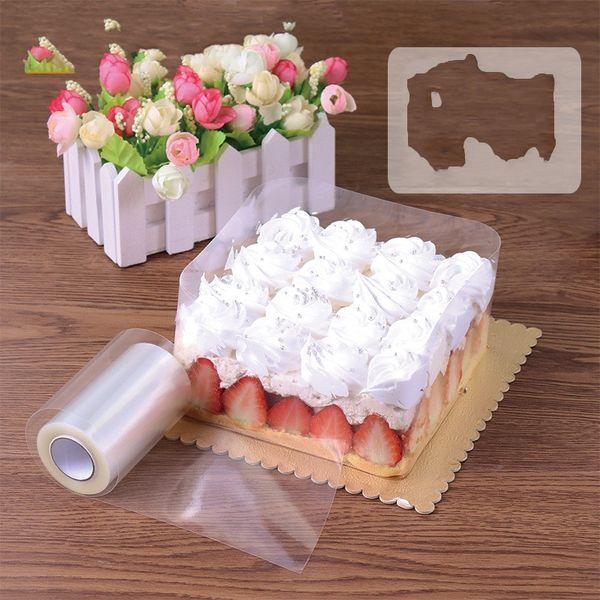 DIY Baking Tool Cake Membrane Transparent Mousse Surrounding Edge Tape Food Grade Dessert Decor Package High Quality 6xz Ww