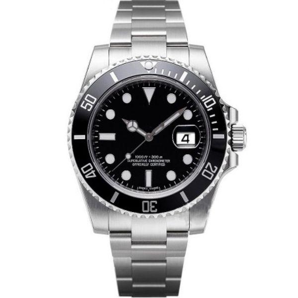 Montres de luxe pour hommes Montres de qualité Mode Hommes Bracelet en acier inoxydable Montre mécanique automatique 2813 Mouvement Montre-bracelet Saphir