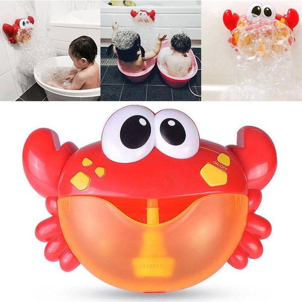 Crab Bubble Maker Automated Spout Bubble Machine Bath Shower Kids Fun Toy 2018 New Arrival High Quality