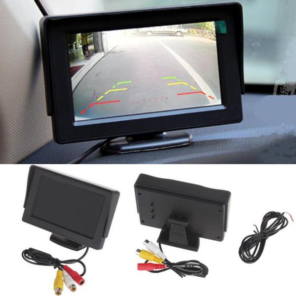 top popular 9-35V FPV 4.3Inch TFT LCD Monitor Screen FPV AV RC Models Monitor LCD Car Rearview Monitor 2021